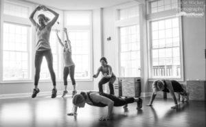 Entrenador personal para perder peso. HIIT